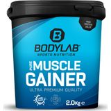 Bodylab24 Pure Muscle Gainer - 2000g - Hazelnut Cocoa, hazelnoot, cacao, noot