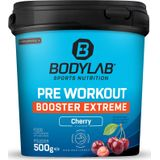 Bodylab24 Pre Workout Booster Extreme - 500g - Cherry, kers
