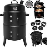 BBQ Rookoven Ronde Grill - rook- en grill-oven 81,5 x 41 cm
