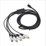 Audio Video Av-kabel HDTV Component Extension Data Cord Lead voor Sony