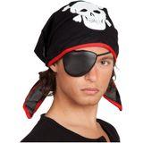 Piraat Bandana met Ooglap BT