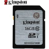Kingston Class 10 Geheugenkaart 128 gb 64 gb 32 gb 16 gb Sd-kaart C10 UHS-I U1 SDHC SDXC flash Card voor Digitale Camera - 128GB