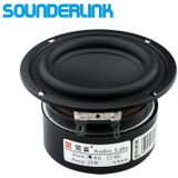 1 ST Sounderlink Audio Labs 3 ''25 W subwoofer woofer bas ruwe speaker driver 4 Ohm 8Ohm voor DIY home theater monitor audio - 8Ohm