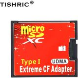 TISHRIC Micro SD TF naar CF Card Adapter Voor MicroSD/HC Compact Flash Type I Memory Kaartlezer converter Voor Camera