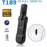 T189 Mini Pen Camera 1080 P Full HD Draagbare Secret Camcorder DVR Kleine Digitale Video Audio Recorder Micro Cam Meeting Business - Cam with 16G TF C