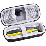 Mayitr EVA Draagbare Case Scheerapparaat Opslag Hard Case Voor Philips OneBlade Trimmer Scheerapparaat Accessoires Reistas Opbergdoos