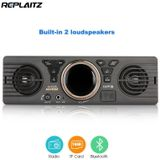 AV252B DC 12 V 1 Din Autoradio Speler In-dash Bluetooth MP3 muziek Audio Stereo Player FM Radio USB Tf-kaart met Twee Speakers