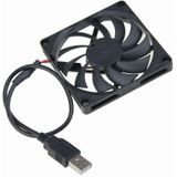 Gdstime 80 MM 5 V USB 80x80x10mm 8 cm 8010 Borstelloze DC Cooling Cooler PC CPU Computer Case Fan gdstime