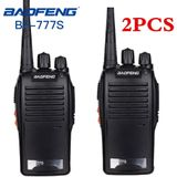 2 stks Baofeng BF-777S Walkie Talkie Draagbare Radio BF777s 5 w UHF 400-470 mhz BF 777 s Comunicador zender Transceiver - Amerikaans