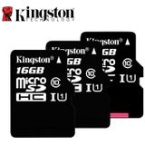 Kingston Micro Sd-kaart Class 10 16 gb 32 gb 64 gb 128 gb Geheugenkaart C10 Mini Sd-kaart SDHC SDXC TF Card voor Smartphone - TFC10G2-128G