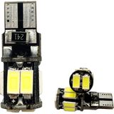 Hoge T10 Canbus10 STKS t10 W5W 194 168 5630 10 SMD Kan-bus Foutloos 10 Interieur LED Verlichting Wit 6000 K Canbus 300LM