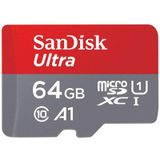 SanDisk Ultra micro sd-kaart 64 gb 32 gb 16 gb 128 gb 8 gb microSDHC/micro SDXC UHS-I geheugenkaart 80 mb/s TF Card Voor Smartphone - 16g a1
