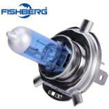 H4 55 W 60 W Halogeen 6000 K Hoge Dimlicht Koplamp Bulb Auto P43T 6000 K 12 V Xenon Wit 9003 Lamp FISHBERG