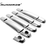 Runmade 9 Stks/set Chrome Deurgreep Trim Cover Lexus IS200 RX300 IS300 Toyota Harrier 1st Generatie Auto Styling