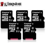 Kingston Class 10 Sd-geheugenkaart 16 gb 32 gb 64 gb 128 gb 256 gb Micro Card Mini SD kaart C4 8 gb SDHC SDXC TF Card voor Smartphone - 16 gb c10