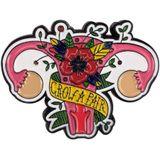Groeien Een paar Eierstokken Emaille Pin Vrouwen Baarmoeder Feministische Badge Broche