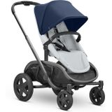 Quinny Hubb Kinderwagen Navy On Grey
