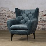 Fauteuil Bomba Blauw Tower Living