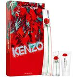 Kenzo Flower 100ml Edp + Mini 15ml Edp + Bodylotion Geschenkset