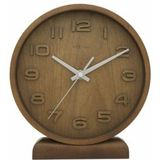 NeXtime 5192gs Wood Wood Small [22x20 cm, Wood, Gray]