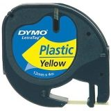 DYMO 12mm LetraTAG Plastic tape labelprinter-tape