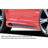 Rieger side skirt | Golf 5 - 3-drs., GTI, R32 | r stuk carbonlook abs | Rieger Tuning