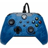 PDP Wired Controller voor Xbox Series/One - Blue camo