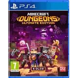 Minecraft Dungeons Ultimate Edition NL/FR PS4