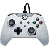 PDP Wired Controller voor Xbox Series/One - White camo