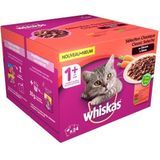 Whiskas 1+ Classic Selectie pouches multipack 24 x 100g