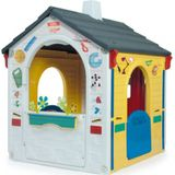 Injusa speelhuis Country Playhouse E-Learning 121 cm wit