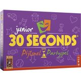999 Games partyspel 30 Seconds Junior 31 cm karton paars