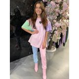 Reinders Oversized Pastel T-Shirt - Baby Pink