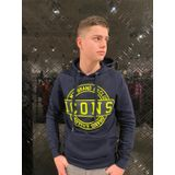 My Brand Icon Stamp Hoodie - Navy
