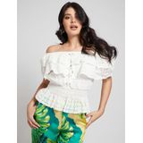 Guess Isotta Top - Wit