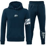 Malelions Captain Tracksuit - Donkerblauw