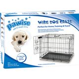 Wire Dog Crate Pawise Bench Hond 107,5 x 71,5 x 79 cm