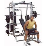 Body-Solid GS348P4 7-series Smith Machine full-options
