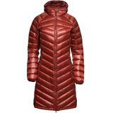 Yeti Womens Pearth Down Coat Jas (Dames |rood)