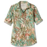 Royal Robbins Womens Expedition Tunic Print Blouse (Dames |beige/grijs)