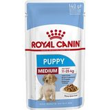 Royal Canin Medium Puppy Natvoer Hond 10x 140g