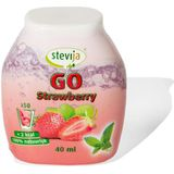 Stevija Stevia limonadesiroop go strawberry 40ml