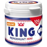 King Pepermunt mini pot 100st