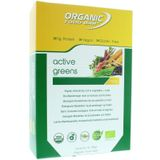 Organic Food Bar active greens 12 x 70g