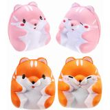 Squishy Hamster 8cm Slow Rising Cute Animals Collectie Cadeau Decor Toy
