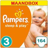 Pampers Sleep & Play Luiers Maat 3 - 164 Luiers Maandbox