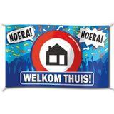 Vlag - Welkom thuis - 150x90cm