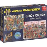 Puzzel - Jan van Haasteren - Let's party - 500+1000st.