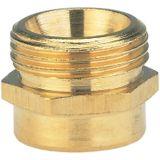Gardena Messing verloopnippel, 33,3mm (G 1)-buitendraad / 21mm (G 1 1/4)-binnendraad - 07266-20