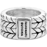 Buddha to Buddha 112 Ring Love Message zilver